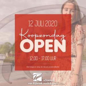 KOOPZONDAG 12 JULI - Van Rijbroek Boekel