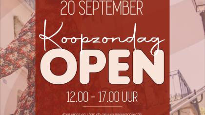 Koopzondag 20 september Van Rijbroek