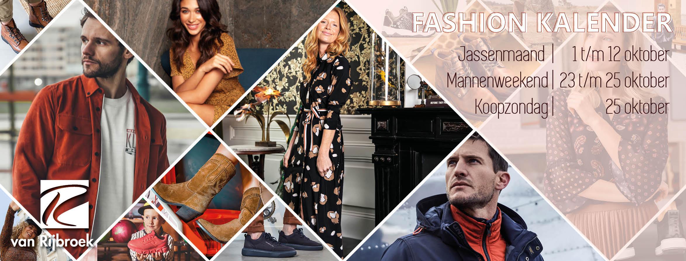 Najaarscollectie + fashionkalender