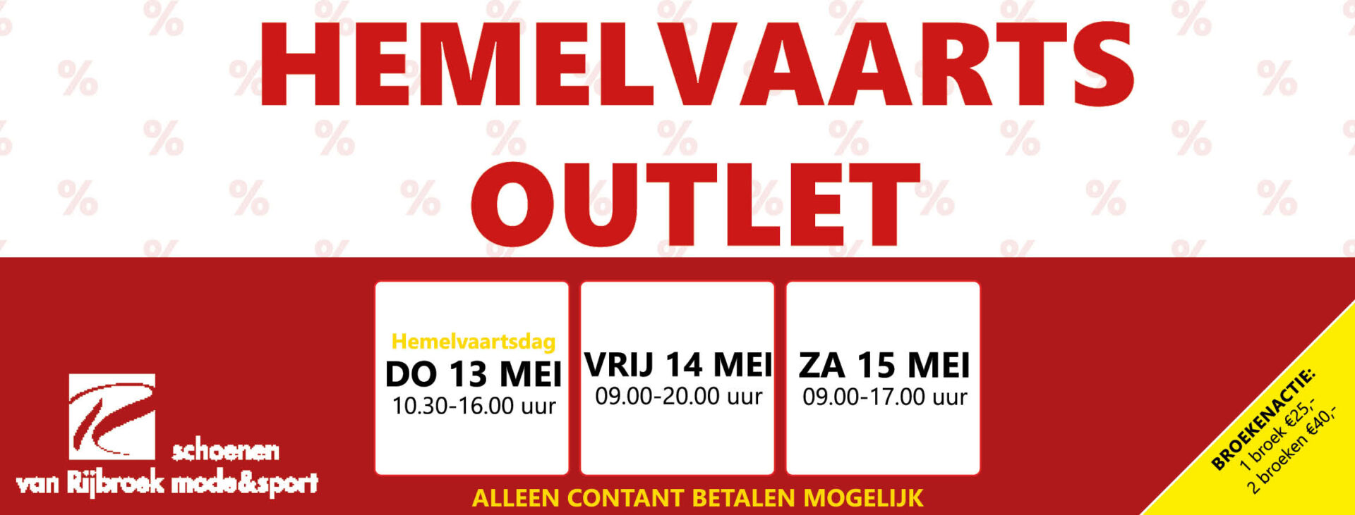 Hemelvaarts outlet